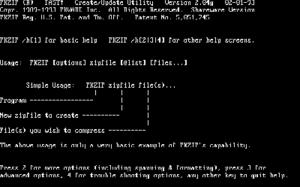 PKZIP - Image: Pkzip 2.04g dos