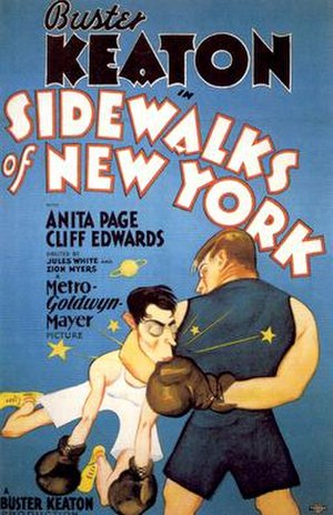 Sidewalks of New York (1931 film) - Theatrical release poster