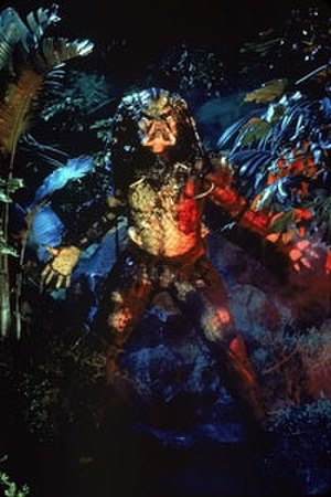 Predator (alien) - Kevin Peter Hall as the Predator as seen in Predator