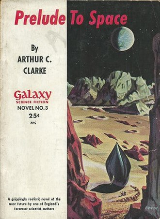 Prelude to Space - Cover of the first edition