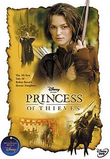 <i>Princess of Thieves</i> 2001 television film directed by Peter Hewitt