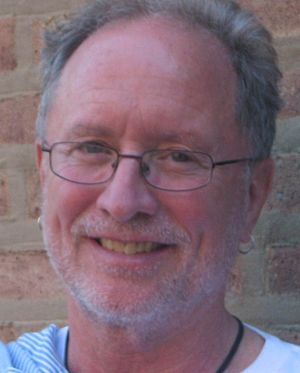 Cropped photograph of Professor Bill Ayers
