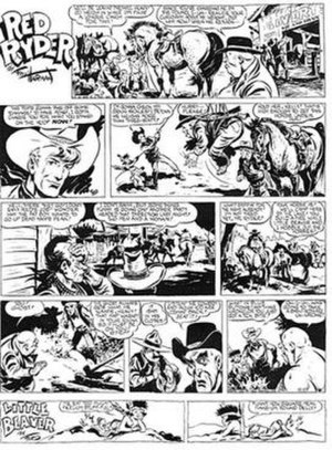 Red Ryder - Fred Harman's Red Ryder (December 27, 1942)