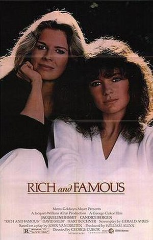 Rich and Famous (1981 film) - Original poster