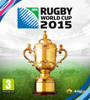 Rugby World Cup 2015 (video game) - Cover art