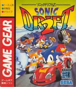 Sonic Drift 2 - Japanese Box Art