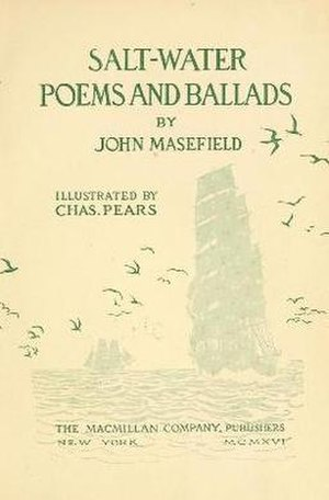 Salt-Water Poems and Ballads - First edition cover