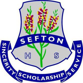 Sefton High School - Sefton School Crest