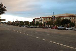 Sepulveda Boulevard - Sepulveda near northern terminus at Rinaldi