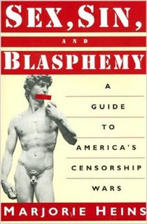 <i>Sex, Sin, and Blasphemy</i> book by Marjorie Heins