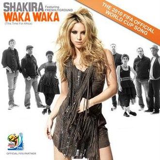 Waka Waka (This Time for Africa) - Image: Shakirasinglewc