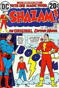 200px Shazam no 1 Captain Marvel / Shazam
