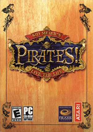 Sid Meier's Pirates! (2004 video game) - Image: Sid Meier's Pirates! (2004) Coverart