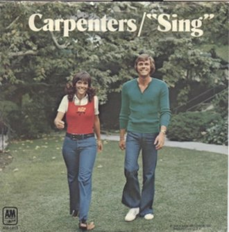 Sing (Joe Raposo song) - Image: Sing (The Carpenters)