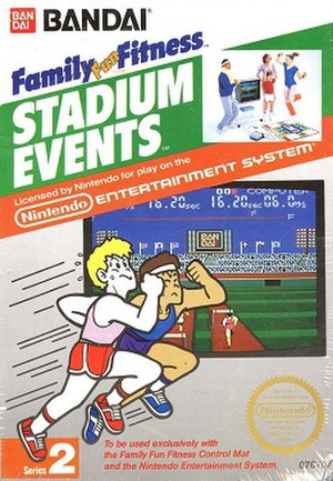 Stadium Events - North American box art