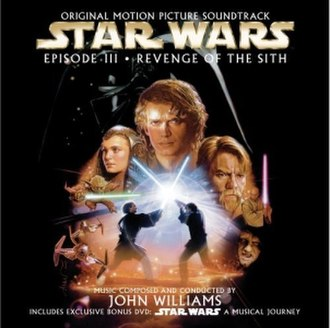 Star Wars: Episode III – Revenge of the Sith (soundtrack) - Image: Star Wars Episode III Revenge of the Sith Motion Picture Soundtrack Cover