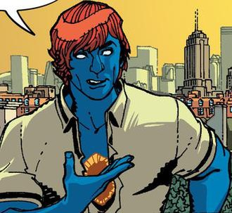Starman (comics) - Mikaal Tomas as Starman. Art by Cully Hamner.