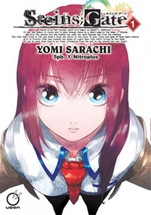 The cover art shows a red-haired woman from above, looking up at the viewer.