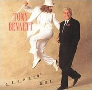 Steppin' Out (Tony Bennett album) - Image: Steppin' Out (Tony Bennett album cover art)