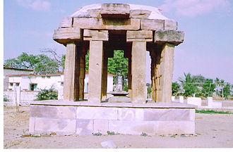 Sudi - Ishwara in a stone made shelter