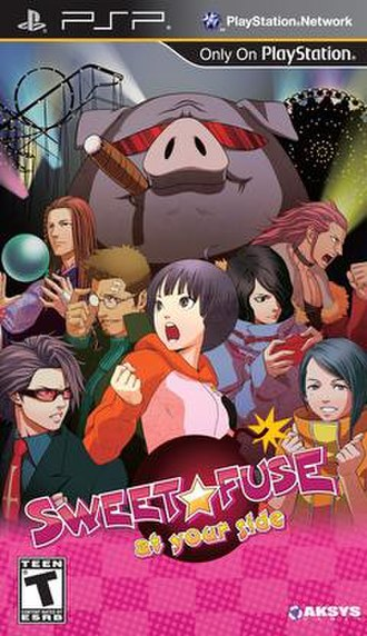 Sweet Fuse: At Your Side - North American cover art