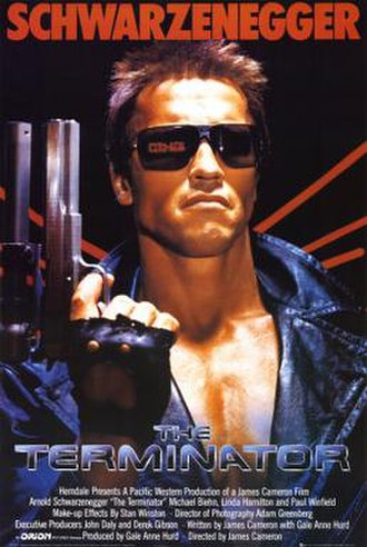 The Terminator - Theatrical release poster