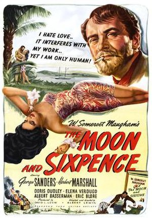 The Moon and Sixpence (film) - Film poster