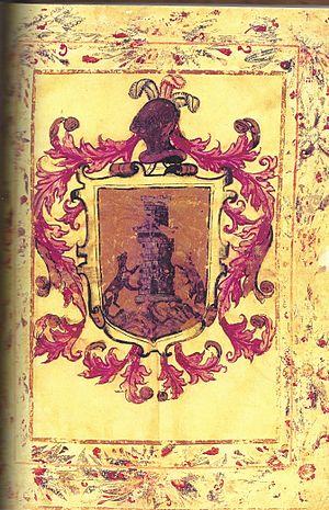 Juan Rodríguez de la Cámara - Coat of Arms