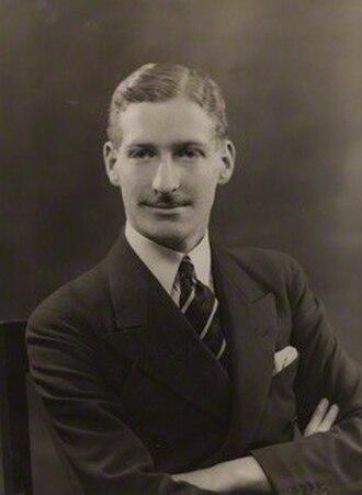 John Chetwynd-Talbot, 21st Earl of Shrewsbury - The Earl of Shrewsbury in 1935