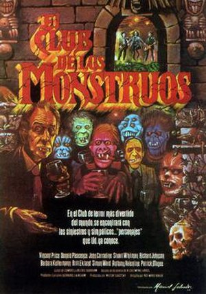 The Monster Club - Spanish language poster for the film