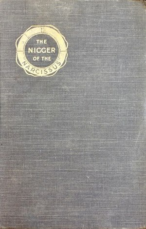 The Nigger of the 'Narcissus' - First edition cover