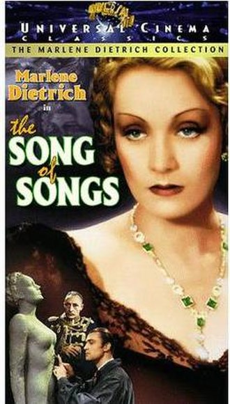 The Song of Songs (1933 film) - Image: The Song of Songs Video Cover