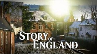 Michael Wood's Story of England - Image: The Story of England titlecard