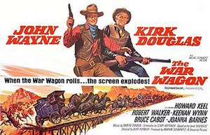 The War Wagon - 1967 film poster by Howard Terpning