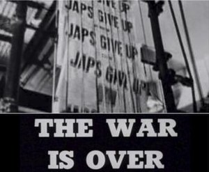 The War Is Over (1945 film) - Title frame