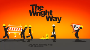The Wright Way - Title card