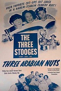 <i>Three Arabian Nuts</i> 1951 film by Edward Bernds