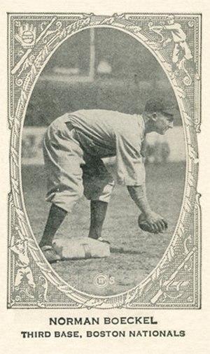 "Tony Boeckel - Norman ""Tony"" Boeckel 1922 baseball card"