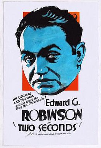Two Seconds - 1932 theatrical poster
