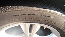 Uniform Tire Quality Grading Wikipedia