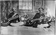 Legendary Vainikas  – Veene Subbanna and Veene Sheshanna (photographed in 1902)