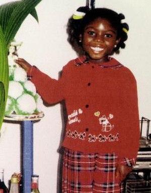 Murder of Victoria Climbié - Image: Victoria Climbié
