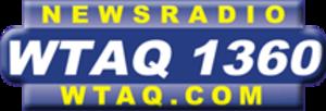 WTAQ - WTAQ's logo prior to the start of the FM simulcast