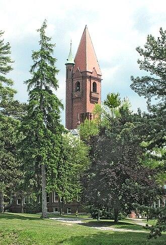 Wells College - Wells College tower