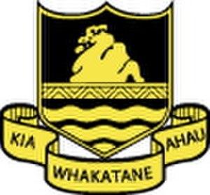 Whakatane High School - Image: Whakatane High School logo