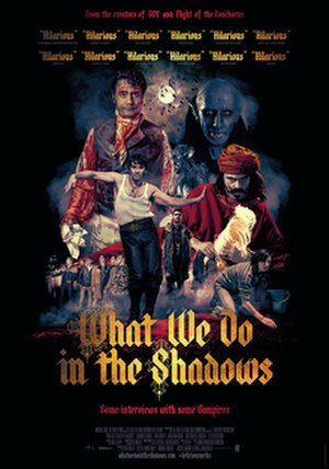 What We Do in the Shadows - New Zealand theatrical release poster