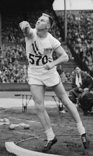 Wilbur Thompson - Thompson at the 1948 Olympics