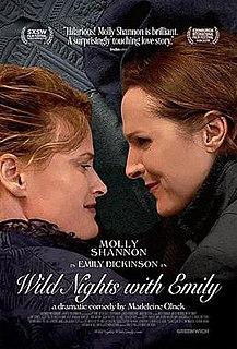 <i>Wild Nights with Emily</i> 2018 film