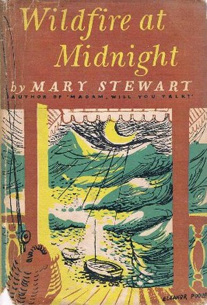 Wildfire at Midnight - First edition (publ. Hodder & Stoughton)  Cover art by Eleanor Poore