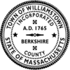 Official seal of Williamstown, Massachusetts